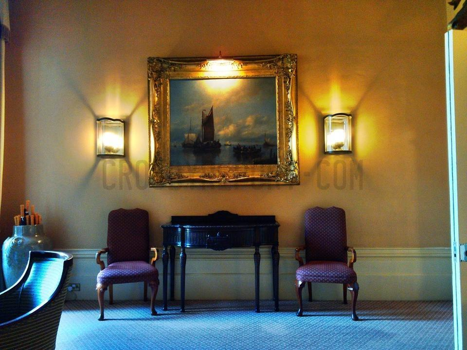 Inside The Elvetham Hotel Hampshire Drawing Room