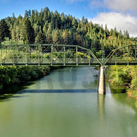 Guerneville Bridge over the Russian River