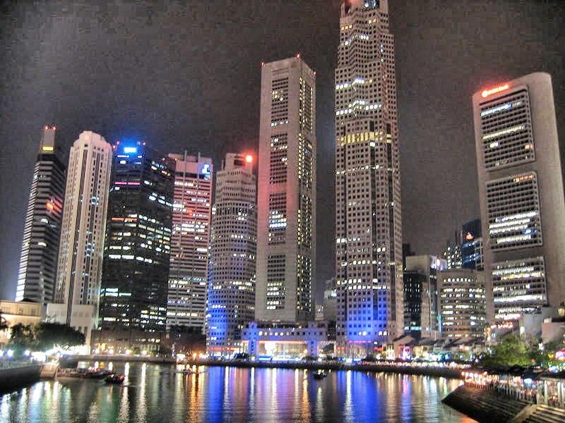 Singapore: It's like Miami only with a lot more Asians.