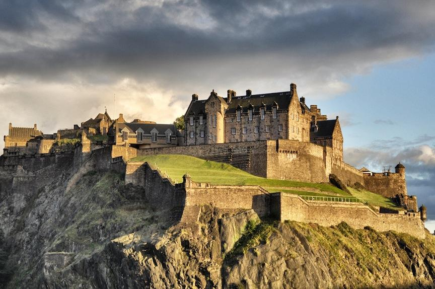 Edinburgh, Scotland: A city of culture, arts, science, and god&@#^! bagpipes.