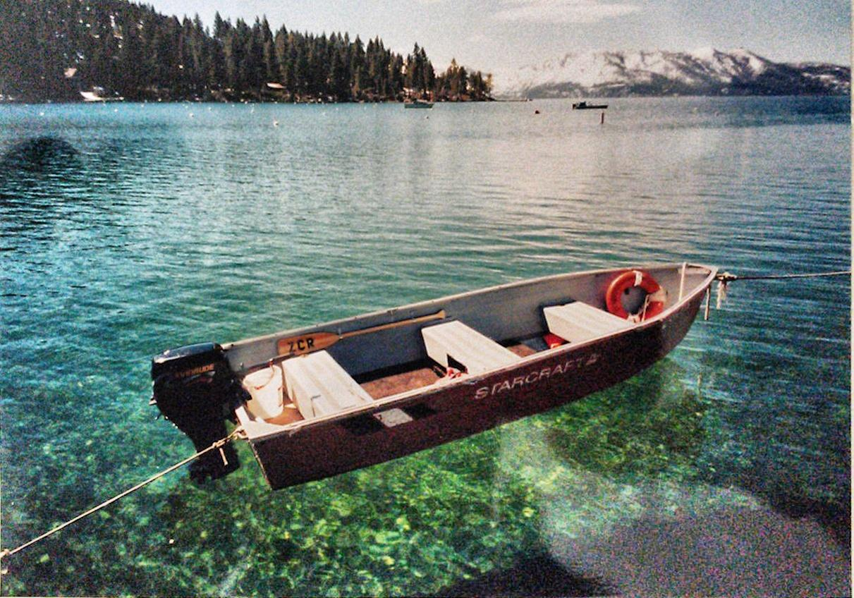 Lake Tahoe, Nevada: Recalibrate your idea of what the color blue looks like.