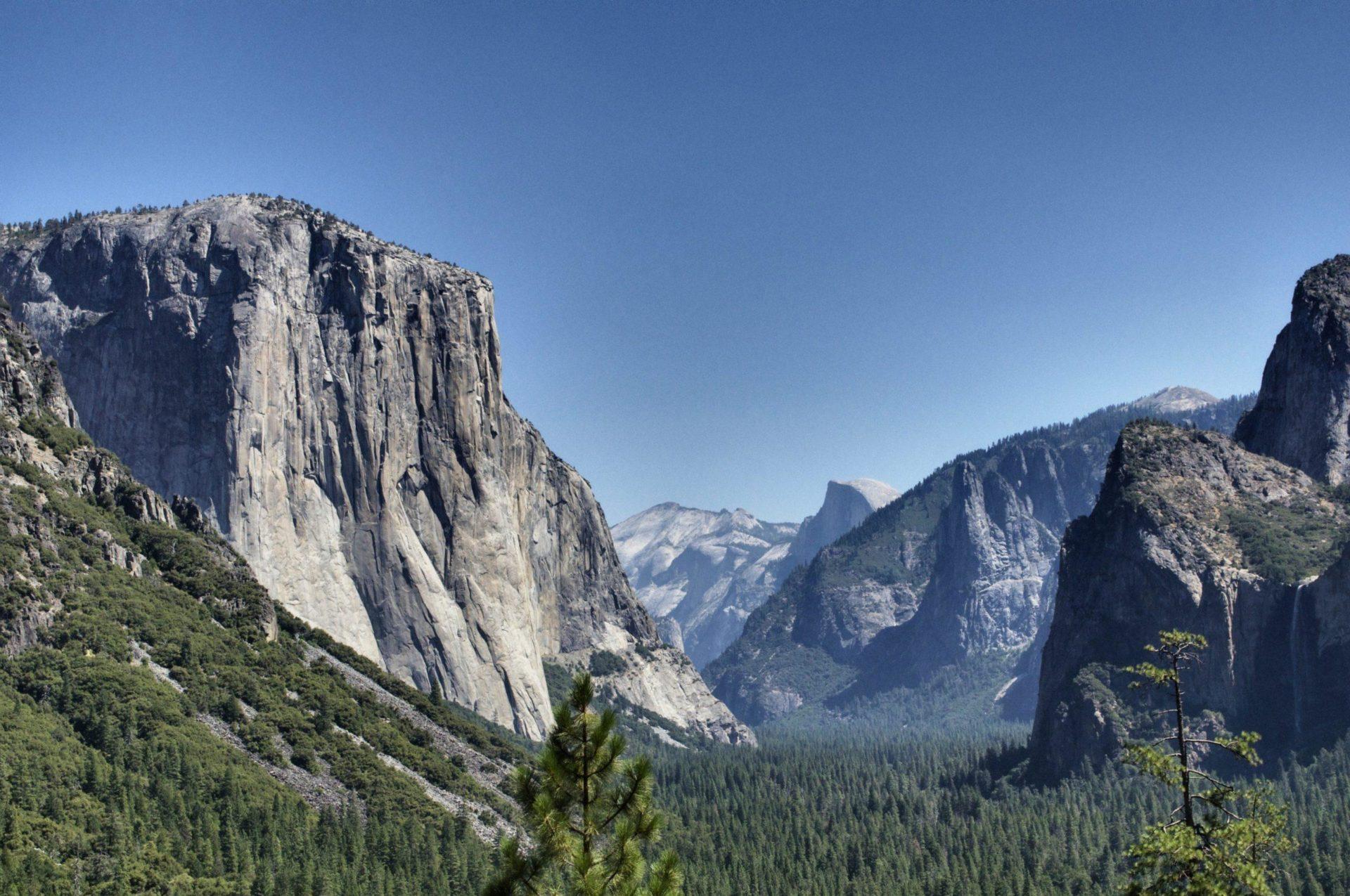 Yosemite California: Nature at its most naturiest.