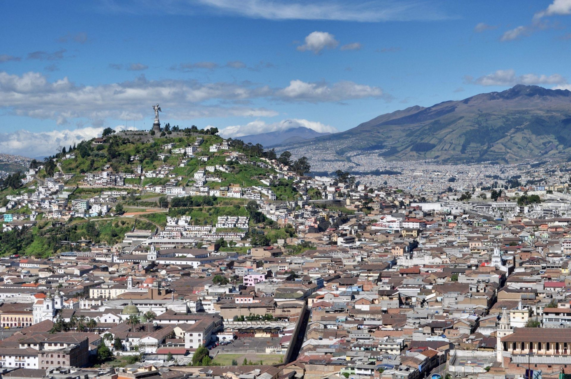 Quito, Ecuador: The world's second-highest capital city (and not because they legalized drugs).