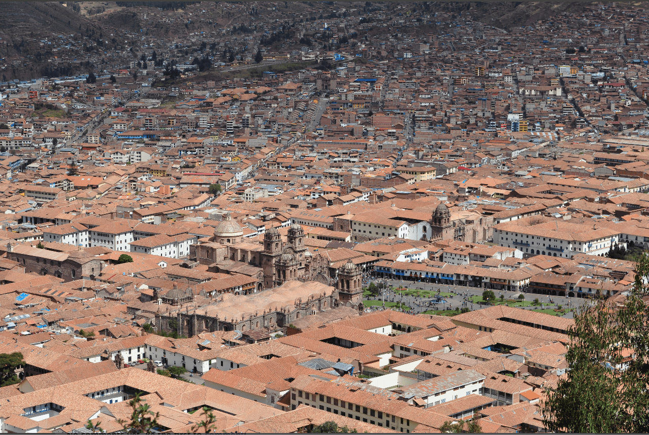 Cusco, Peru: Not everyone who lives in the Andes Mountains crashed their airplane.